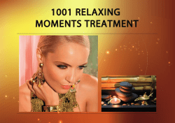 1001 Relaxing Moments Treatment - sarahs