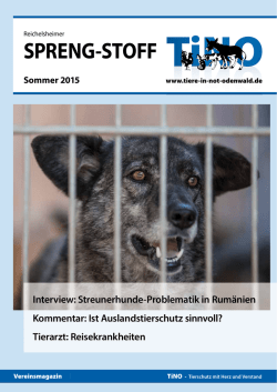 - Tiere in Not Odenwald eV
