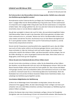 Infobrief vom 08Feb2016_LAVES IB Celle