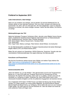 Politbrief als PDF-Download