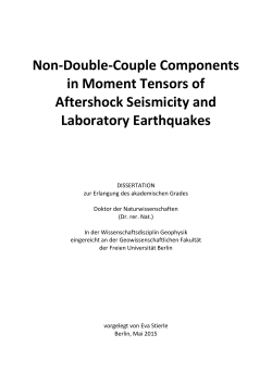 Non-Double-Couple Components in Moment Tensors of Aftershock