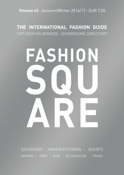 Fashion Square THE GUIDE