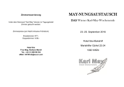 May-nungsaustausch 2016_Programm