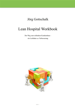 the PDF file Lean Hospital Workbook