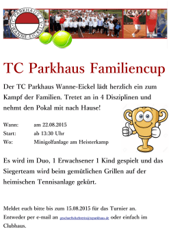 TCP Flyer Familiencup 2015