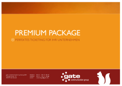 premium package - gate communication group GmbH