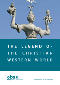 the legend of the christian western world