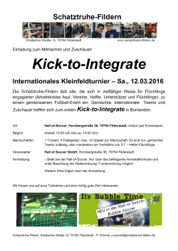 Kick-to-Integrate