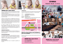 flyer yamaha music school zuerich