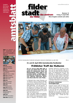 Amtsblatt KW 15, 15. April