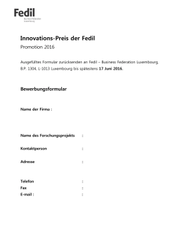 prix de l`innovation industrielle