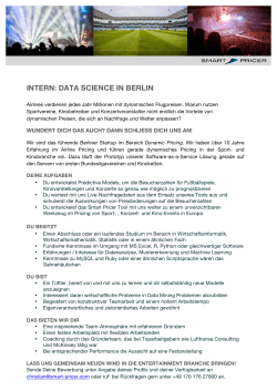 intern: data science in berlin