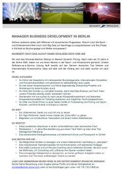 manager business development in berlin