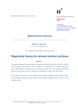 Regularity theory for almost minimal surfaces