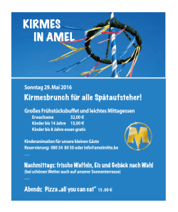 kirmes in amel
