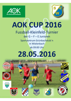 AOK CUP 2016