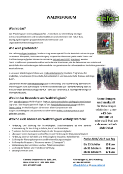 waldrefugium