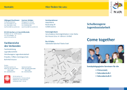 Come together - IN VIA Aachen eV