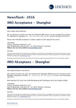 LS NEWSFLASH 19.05.2016