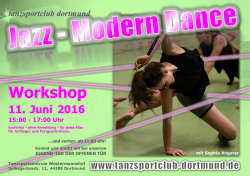 Workshop - Tanzsportclub