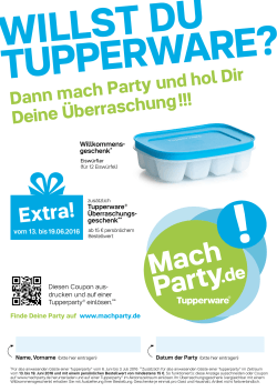 Extra! - Mach Party!