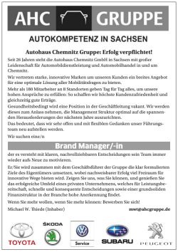Brand Manager/-in