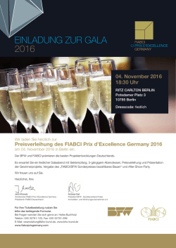 Buchen - FIABCI Prix d`Excellence Germany