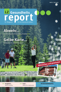 PDF-Download - LZ Gesundheitsreport