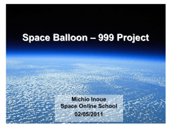 Space Balloon - liveforum.org