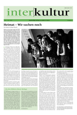 Zum PDF-Download - Deutscher Kulturrat