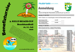 3. KELLY-BEACH-CUP Beachhandball