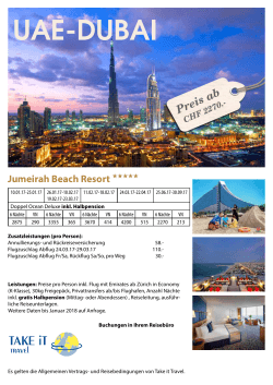 Jumeira Beach Resort Dubai