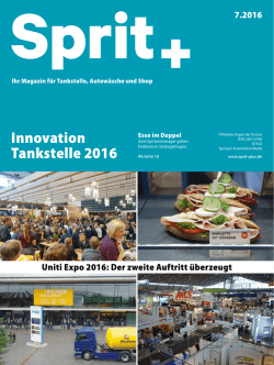 Innovation Tankstelle 2016