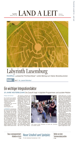 Labyrinth Luxemburg