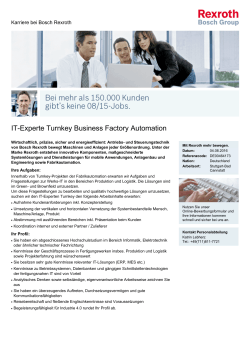 IT-Experte Turnkey Business Factory Automation