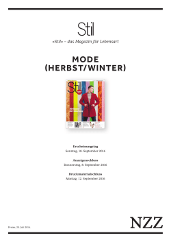 MODE (HERBST/WINTER)