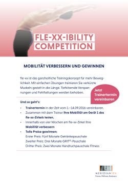 fle-xx-ibility competition