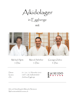 Aikidolager - Aikido Sursee