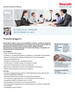 Produktmanager/in