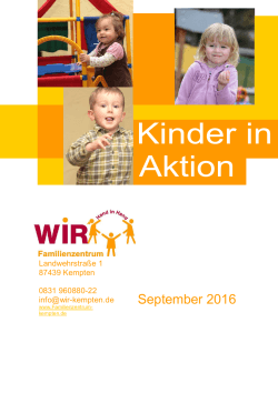 September 2016 - Familienzentrum Kempten