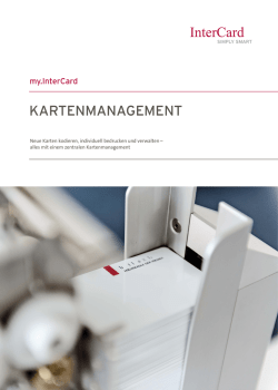 KARTENMANAGEMENT
