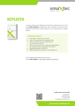 repeater - smaXtec animal care