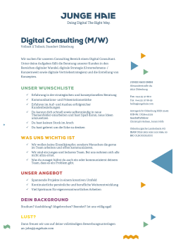 Digital Consulting (M/W)