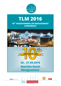 Flyer TLM 2016 - Energy Support