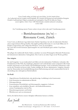 Bindella Weinbau Brief Deutsch