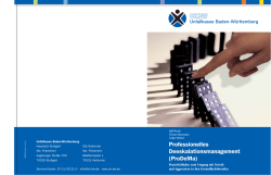 Professionelles Deeskalationsmanagement (ProDeMa)