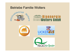Betriebe Familie Wolters