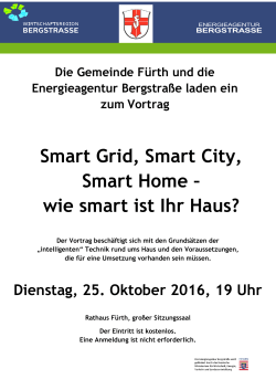 Smart Grid, Smart City, Smart Home – wie smart