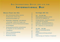 Programm des International Day