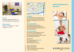 GPR Therapiezentrum PhysioFit